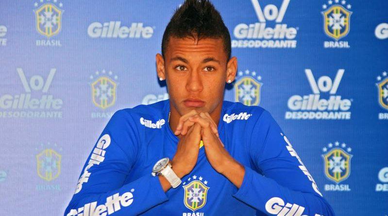 Un rival se arrodillo ante Neymar y le pidió que no lo dejara en ridículo