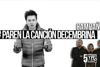 Curiosa campaña para promover canciones alegres en Diciembre. ¡Adiós al grito herido!