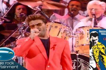 ¿Recuerdas el tributo de George Michael a Freddie Mercury? Espectacular versión de 'Somebody to love'. ¡Dos artistas que siempre serán leyendas!