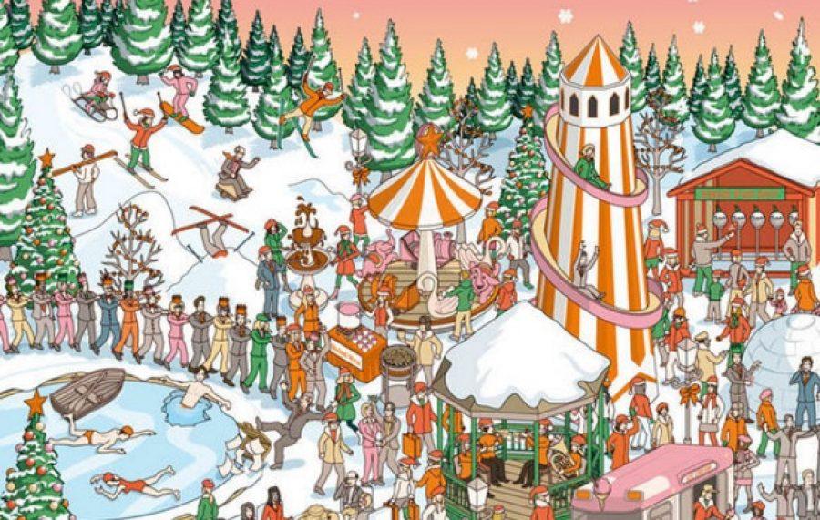 Encuentra a 'Santa' en este nuevo reto que se ha vuelto viral