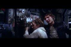 ¿Recuerdas el primer beso de Leia y Han Solo? De los momentos más románticos de 'Star Wars'. ¡Carrie Fisher, siempre serás nuestra princesa!