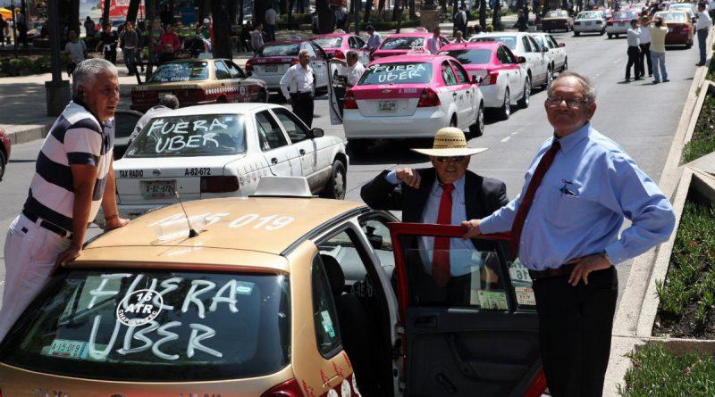 Taxistas Uber