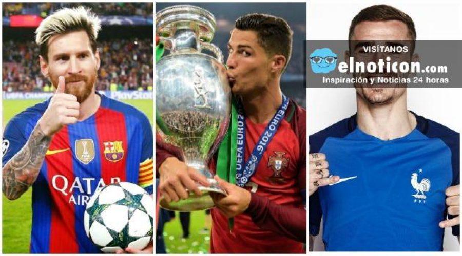 ¿Quién debería ser el mejor jugador de mundo: Messi, Ronaldo o Griezmann?