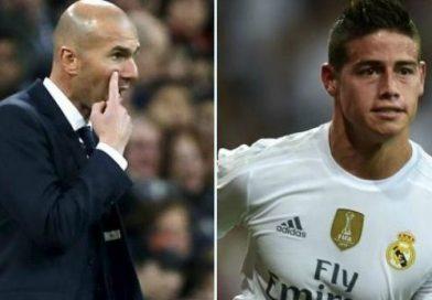 Zidane reitera su opinión en cuanto el futuro de James. ¡SIEMPRE lo apoyaremos!