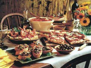 boda-italiana-comida