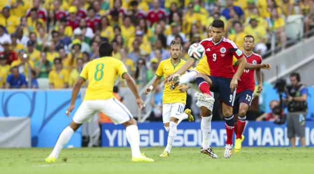 Partido amistoso entre Colombia y Brasil en homenaje al Chapecoense
