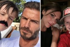 """A David Beckham y a su esposa los critican de ser """"explotadores"""" con sus hijos"""