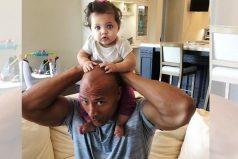 La locura que hizo La Roca para ver a su hija feliz, ¡un gran ser humano!