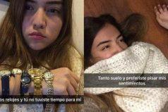 Esta divertida chica quiso compartir su tristeza en Snapchat luego de que su novio la dejara