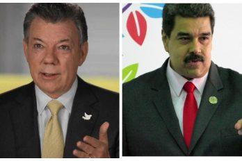 Santos y Maduro acuerdan abrir la frontera gradualmente