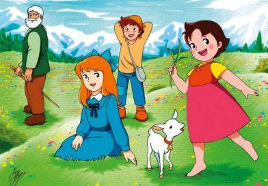 ¿Recuerdas a Heidi de la pradera? Tendra su propia película, ¡recordar es vivir!