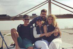 Piqué es muy feliz navegando por Colombia, ¡un lugar para soñar!