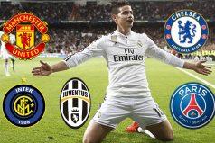 Los cinco 'grandes' de Europa quieren a James Rodríguez