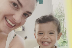 Aww, vean el increíble sueño que Lidia Ávila de OV7 le cumplió a su hijo