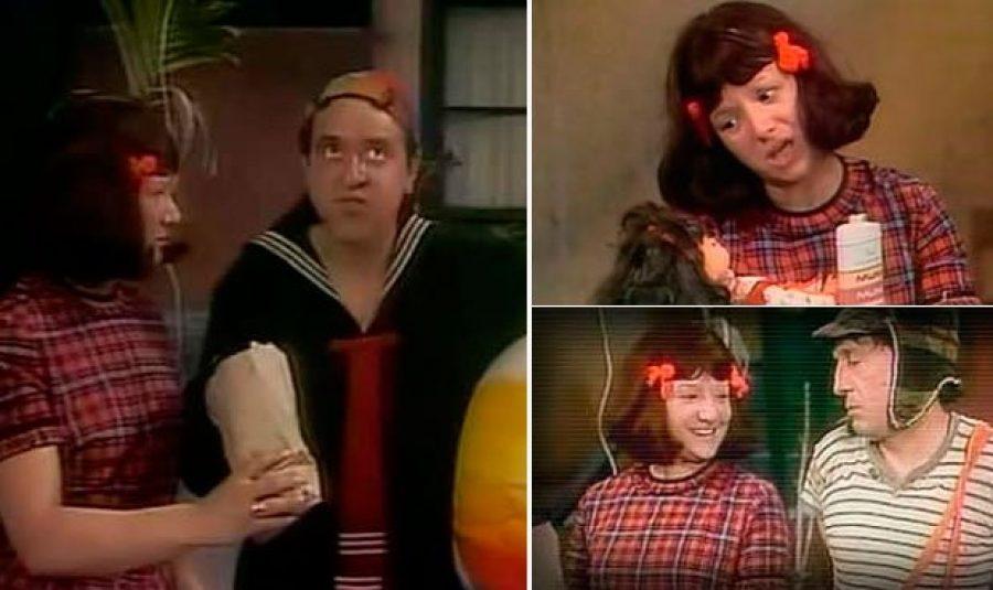 ¿Recuerdas a la prima de la Chilindrina? ¡Era muuuuy divertida!