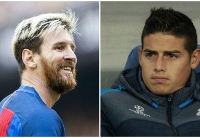 Messi le habría dicho a James Rodríguez que dejara el Real Madrid