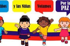 Los niños de Colombia también estarán presentes en el Premio Nobel de Paz