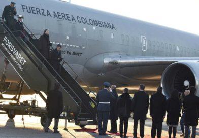 Juan Manuel Santos ya está en Oslo para recibir mañana el Premio Nobel de Paz