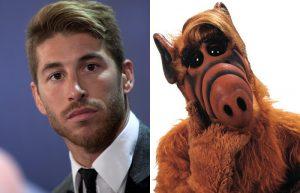Sergio Ramos y Alf