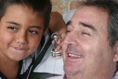 """El regalo que pide Luis Fernando Montoya: """"mover los brazos para poder abrazar a mi hijo"""""""