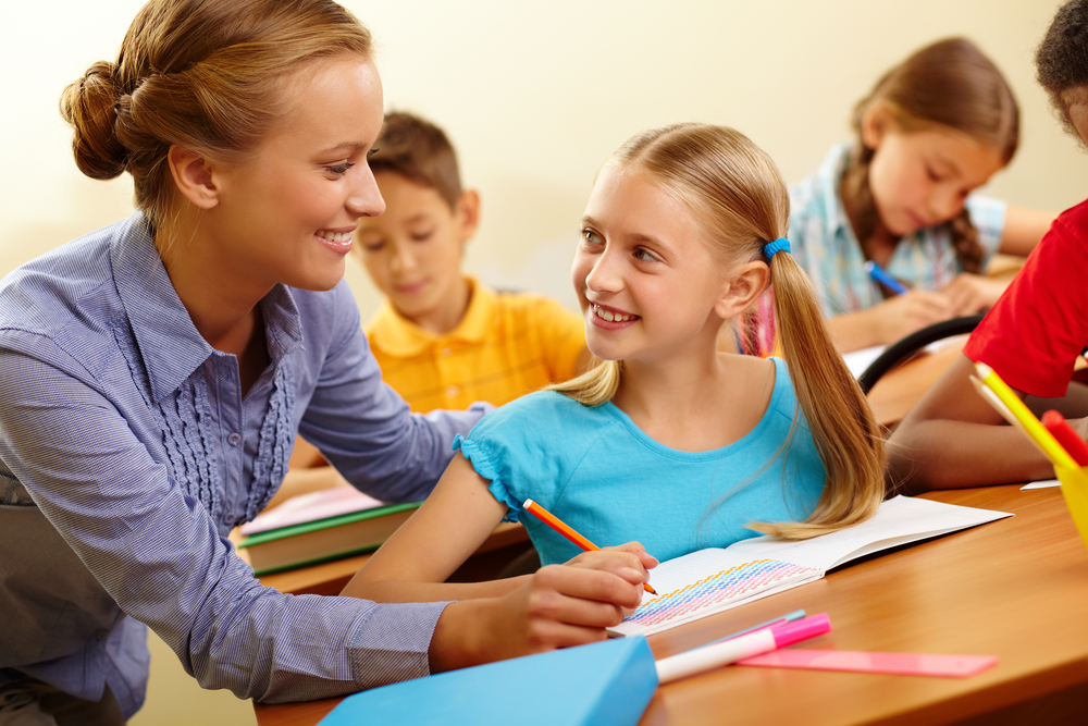 profesora-niña