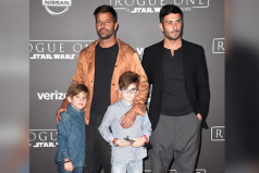 "Los famosos en la premiere de la película ""Rogue One"" en Hollywood"