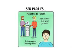 Cómics que muestran qué sientes cuando eres padre