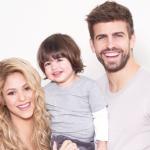 Shakira, Piqué y Sasha