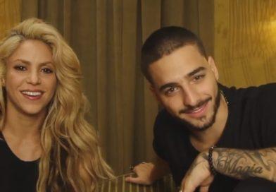 Maluma y Shakira celebran con humildad y agradecimiento. ¡Orgullo LATINO!