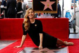 Amy Adams y su estrella en el Paseo de la Fama de Hollywood