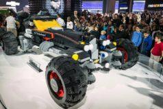 Así es el Batimóvil de LEGO en tamaño real