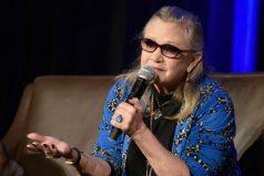 Revelan la causa de muerte de la actriz Carrie Fisher