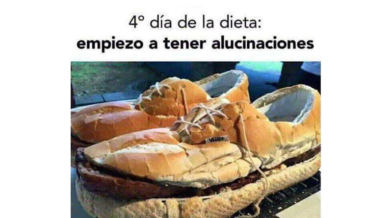 Zapatos de hamburguesa