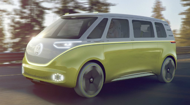 La clásica furgoneta 'hippie' Kombi de los anos 50 se renueva