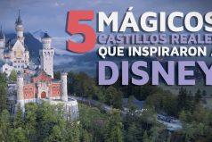 ¿Te gustaría viajar y conocerlos? 5 castillos REALES que inspiraron a Disney