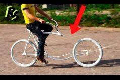 ¡Biciletas Increíbles! Pedalear con las manos o trotar sobre la cicla, algunas de las ideas más asombrosas. ¿En cuál te montarías?