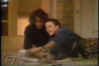 Carlos Vives y Margarita Rosa de Francisco juntos en un comercial… hace 30 años. ¡Cómo se veían de enamorados!