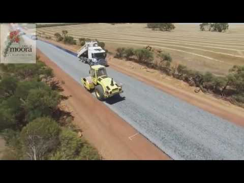 Drone-footage-of-a-road-being-paved-in-Shire-of-Moora-Australia