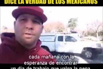 ¡Es la verdad! Así deberían ver todos los norteamericanos a los trabajadores latinos. ¡Gracias por decirlo!