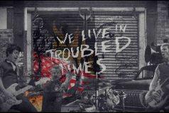 Escucha 'Tiempos preocupantes', el sencillo anti-Trump de Green Day. ¡Notas de paz y amor!