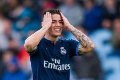 James Rodríguez podría regresar el lunes a entrenamientos