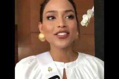 ¡OMG! Le llueven críticas a Andrea Tovar, Miss Colombia, por su manejo del inglés. ¿Tú qué opinas?