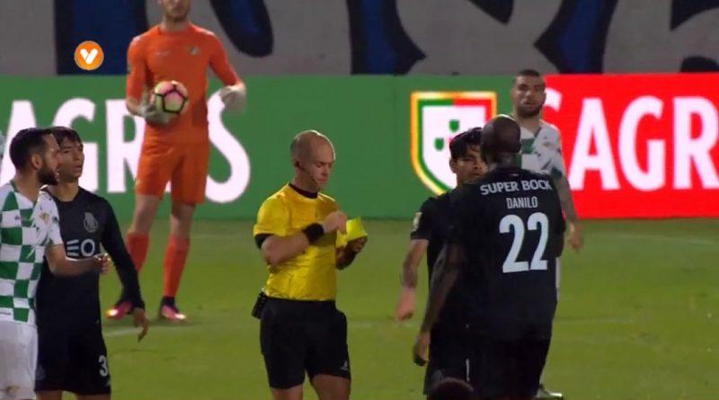 Moreirense-x-FC-Porto-Expulsão-de-Danilo-Pereira