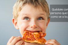 Enamorarse perdidamente de una pizza