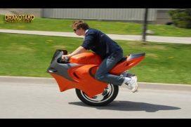 Entre inusuales e impresionantes: las motos más sorprendentes. ¡Son de otro mundo!