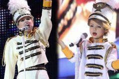 Niña de 7 años cautiva al público por su imitación de Taylor Swift