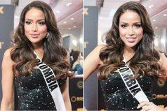 Andrea Tovar quedó de primera princesa en Miss Universo