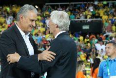 Brasil le ganó a Colombia en el partido amistoso en homenaje al Chapecoense