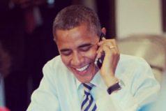 ¿A quién llamó Obama en su última comunicación telefónica como presidente?