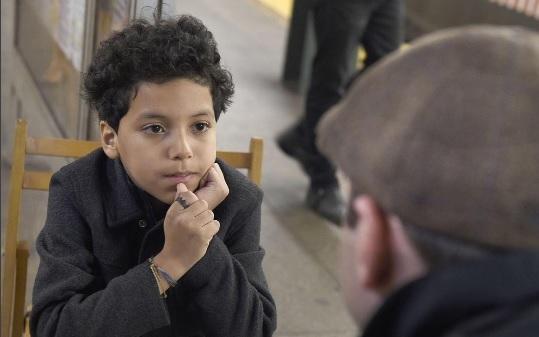La historia del niño de 11 anos que da consejos en el metro de Nueva York